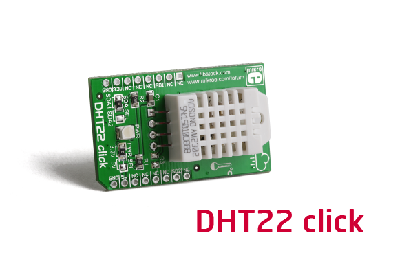 DHT22 click