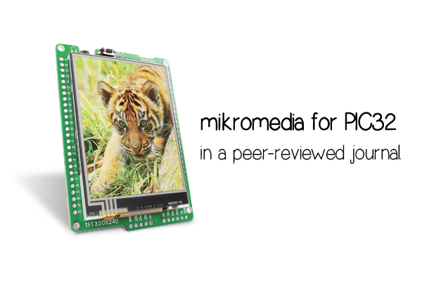 mikromedia for PIC32 in a peer-reviewed journal
