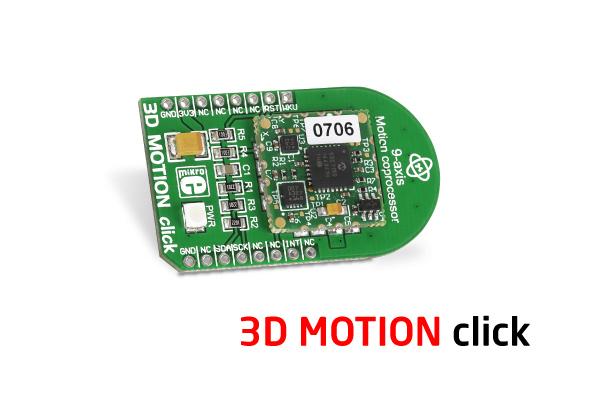 3D motion click