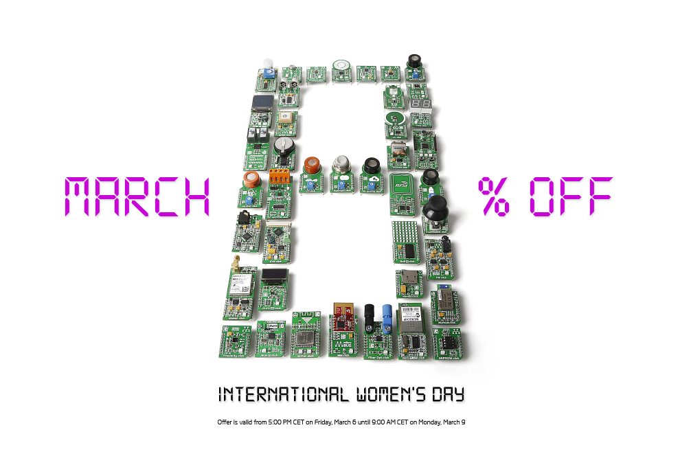 International Women's day offer