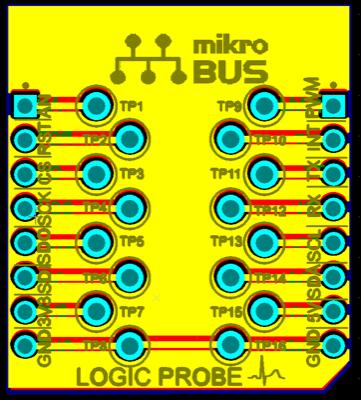 mikroBUS probe