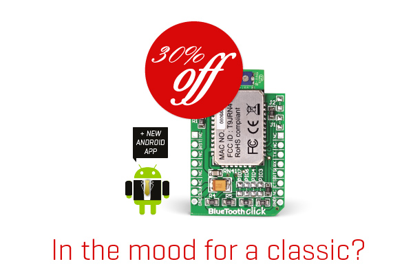 30% OFF Bluetooth click