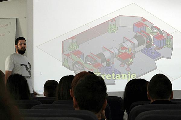 APE Robotics lecture at Petnica