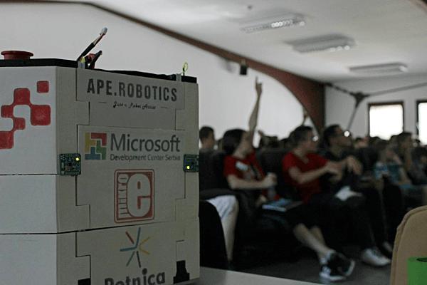 APE robotics in Petnica