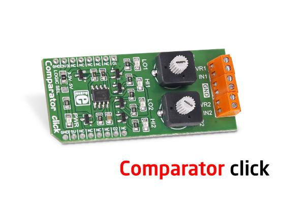 Comparator click