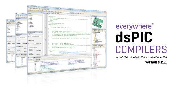 dsPIC compilers