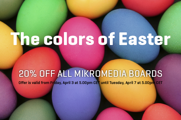 mikromedia easter offer