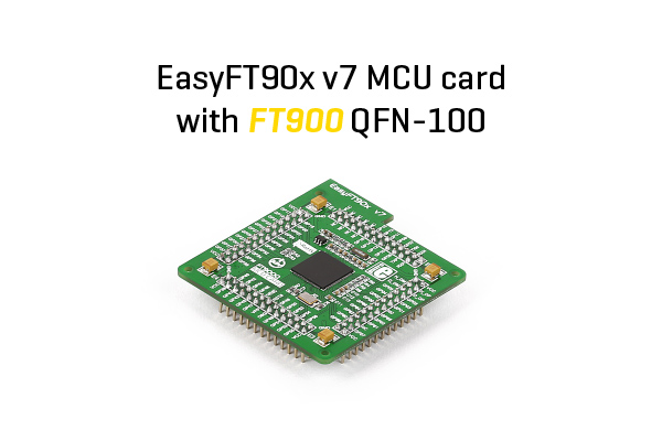 FT900 MCU card