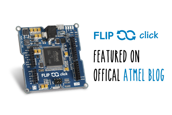 Flip n click on Atmel's blog