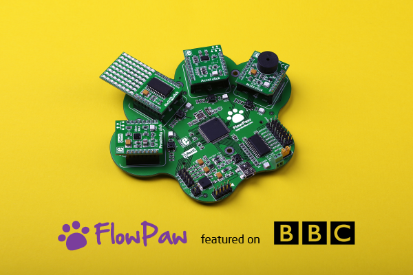 FlowPaw on BBC