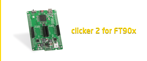 clicker 2 for FT90x