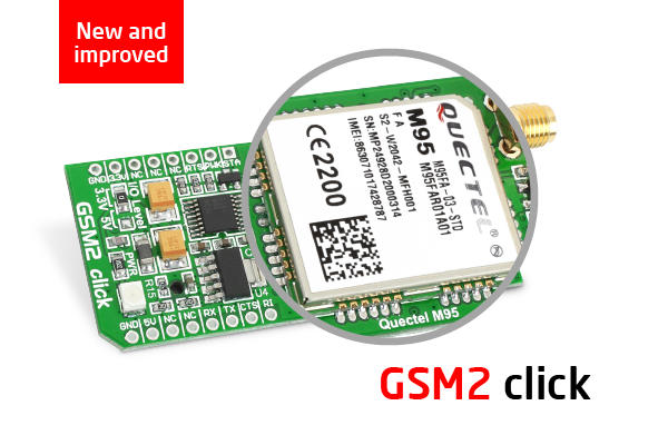 New and improved GSM2 click
