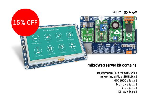 mikroWeb server kit