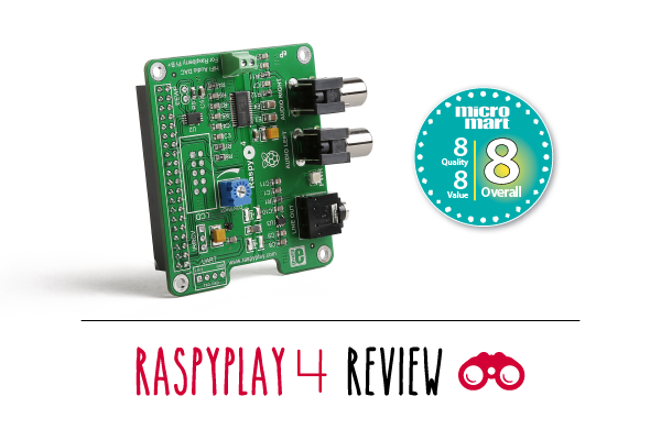 RaspyPlay 4 in Micro Mart