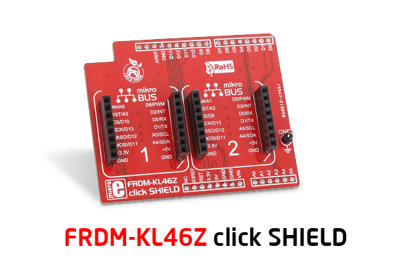 FRDM KL46Z click shield