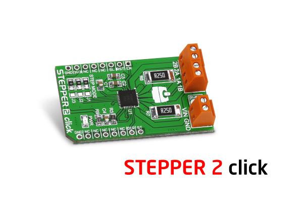 Stepper 2 click