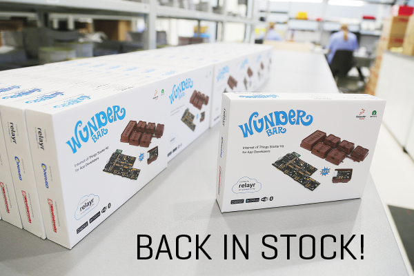 WunderBar back in stock