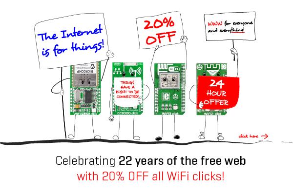 20% OFF all WiFi clicks