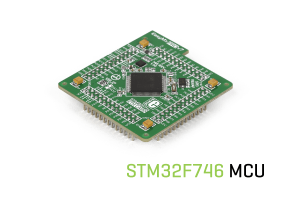 STM32F746 MCU card