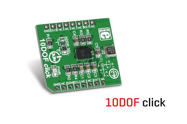 10DOF click