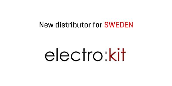Electrokit new distributor in Sweden