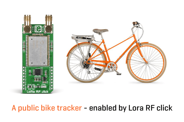LoRa network for bike tracking