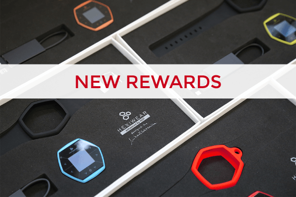 Hexiwear rewards