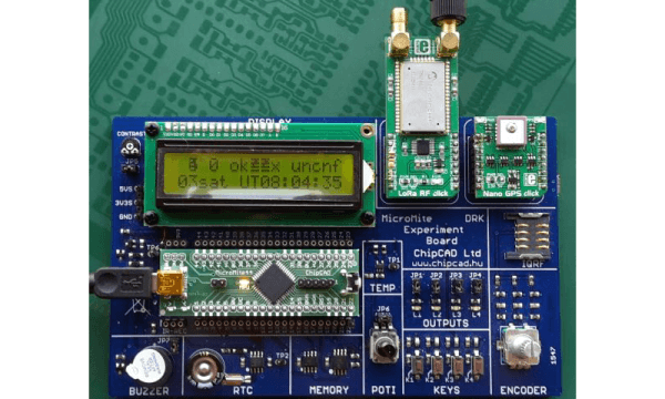 Implementing Lora rf Click as an End Device in a LoRaWAN Network
