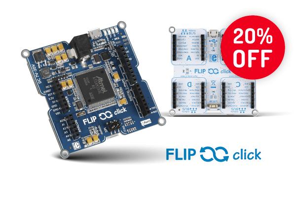 Flip & click 20% OFF