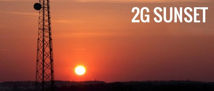 The 2G Sunset is Near