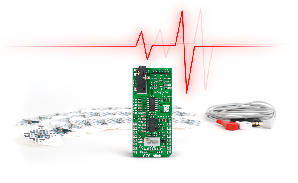 ECG click and mikroPlot - the complete solution for human heart data analysis
