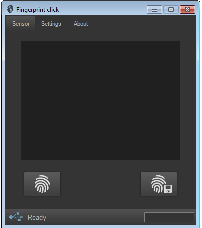 Fingerprint application