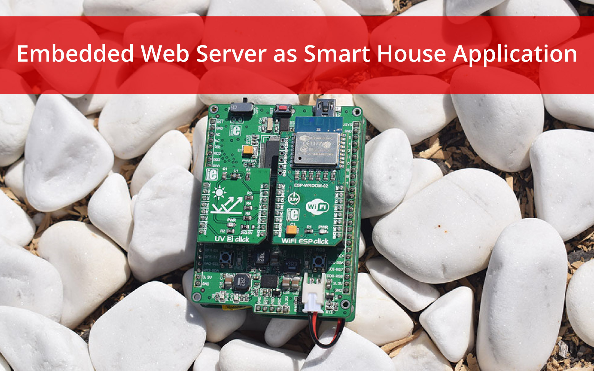 Embedded Web Server as Smart House Application