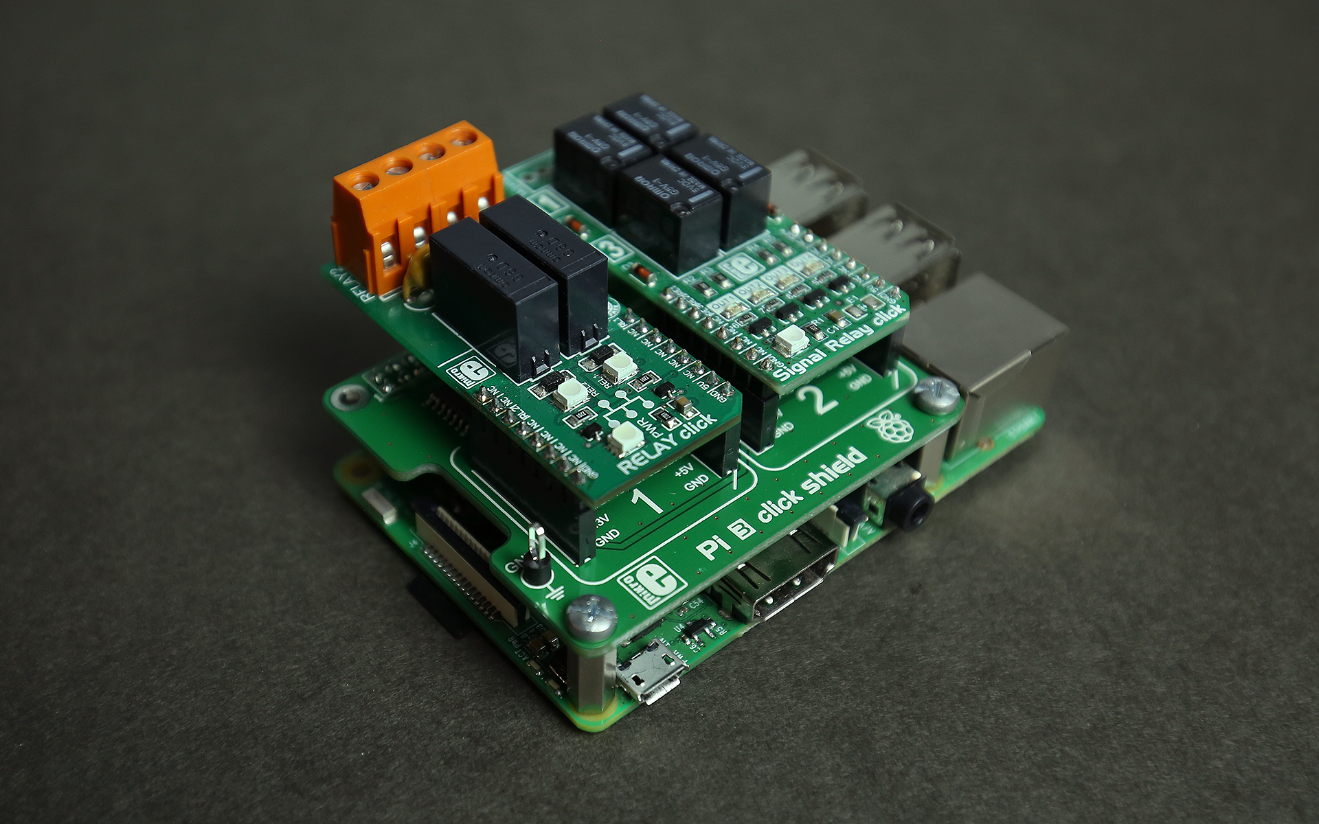 Raspberry Pi examples with click boards™ - MikroElektronika