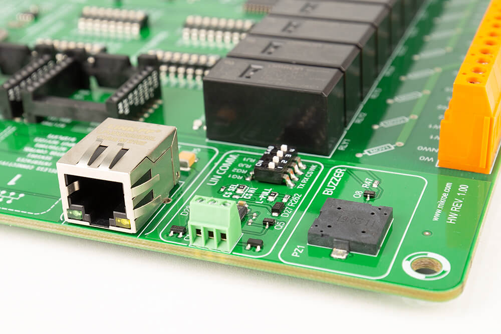 Ethernet/LIN/Buzzer