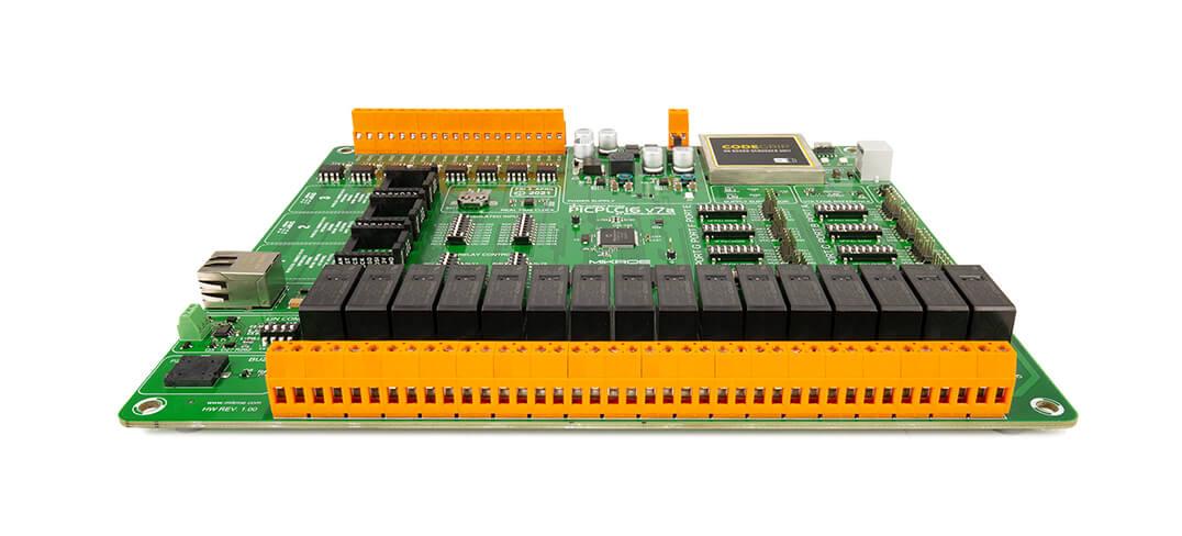 PICPLC16 v7a development board