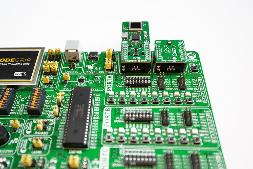 EasyPIC v7a PSU Connectors