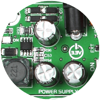 Mikroe EasyMx PRO v7 for Tiva power_supply