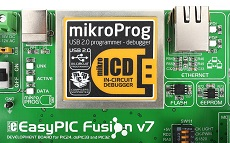 EasyPIC Fusion v7 mikroprog