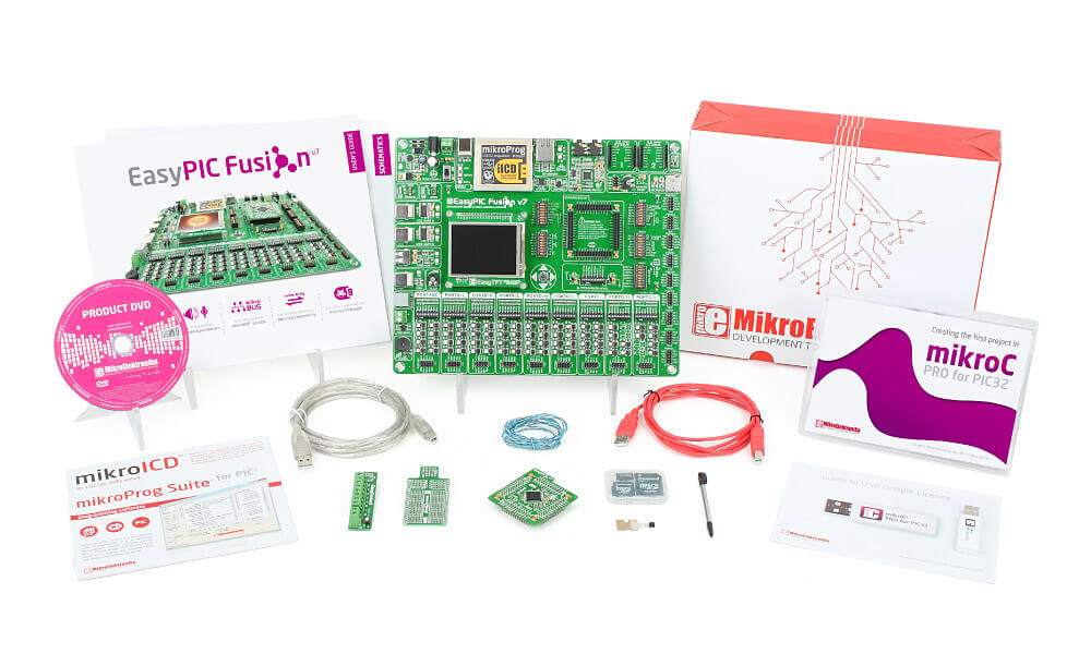 EasyPIC fusion v7 kit c