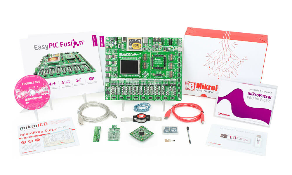 EasyPIC fusion v7 kit pascal