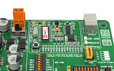 MikroE Full Featured Boards PICPLC16 v6 onboard fast usb and mikroICD debugger