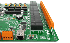 MikroE Full Featured Boards PICPLC16 v6 16 relays
