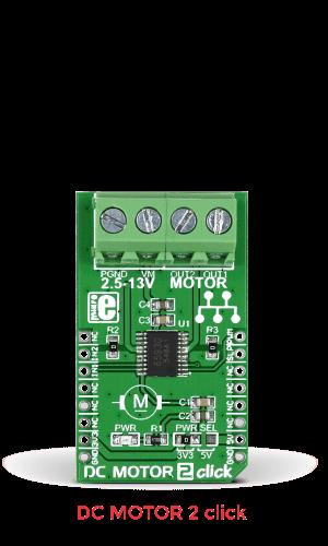 dc motor 2 click