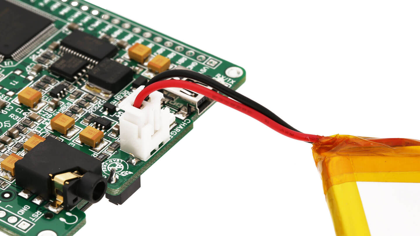 Mikromedia For Dspic33 Development Board Multimedia Circuithelp Lithium Ion Battery 37v 2000mah Mikormedia Dspi33 Connector Li Polymer