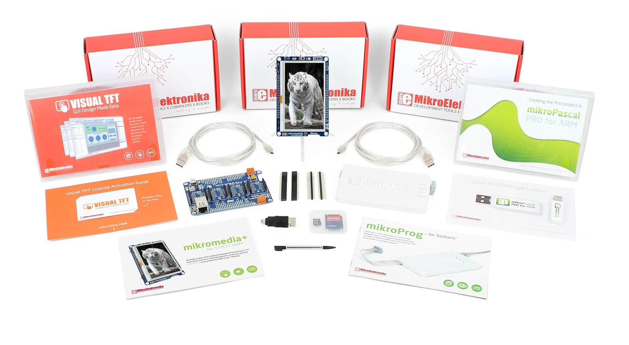TFT Plus Professional (Pascal) Kit - STM32