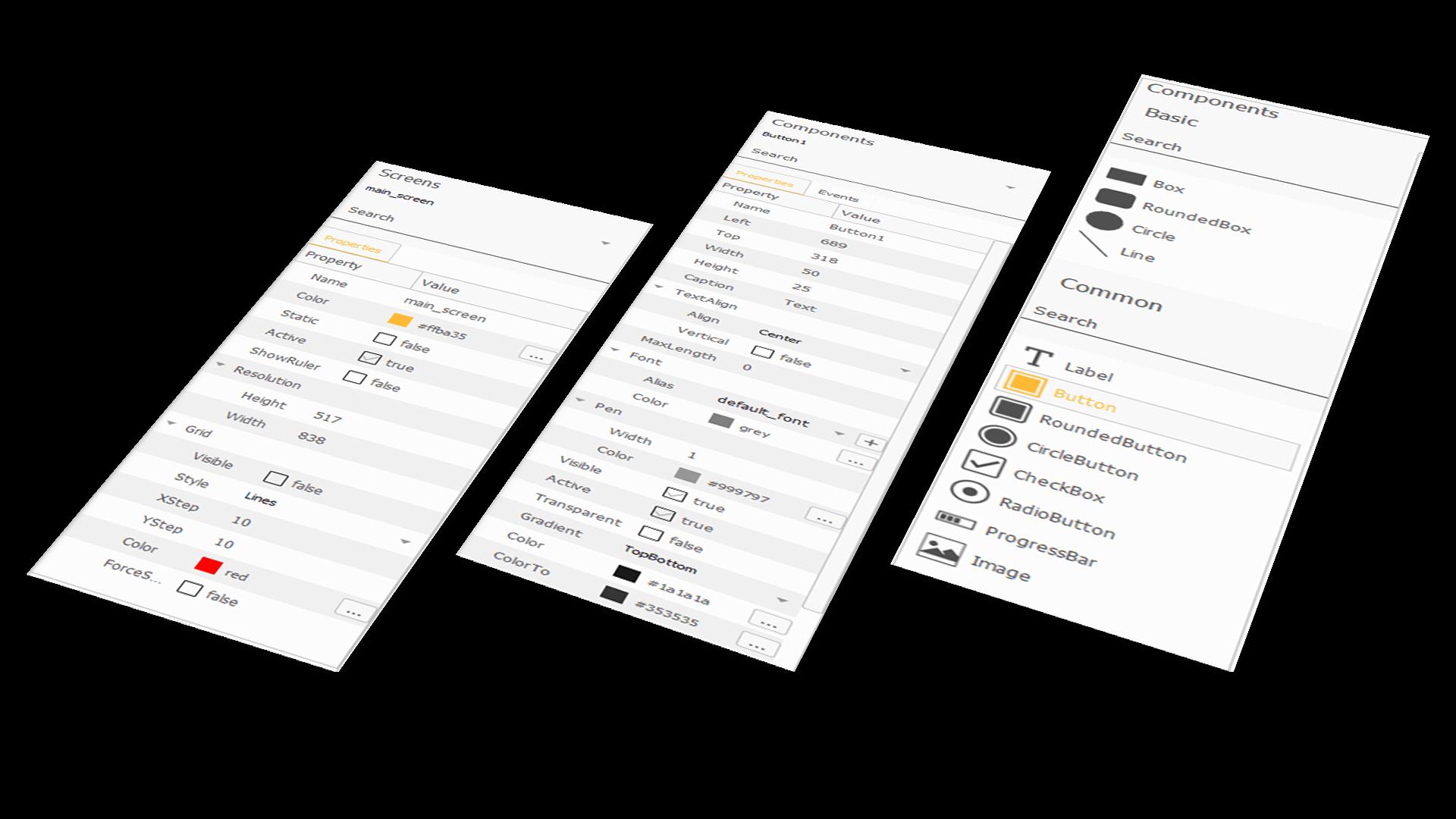 necto designer components