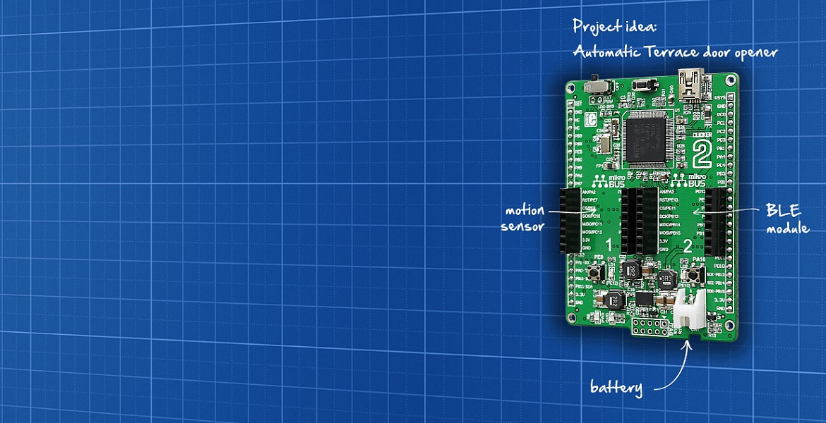 Clicker 2 for STM32 Development Board - MikroElektronika
