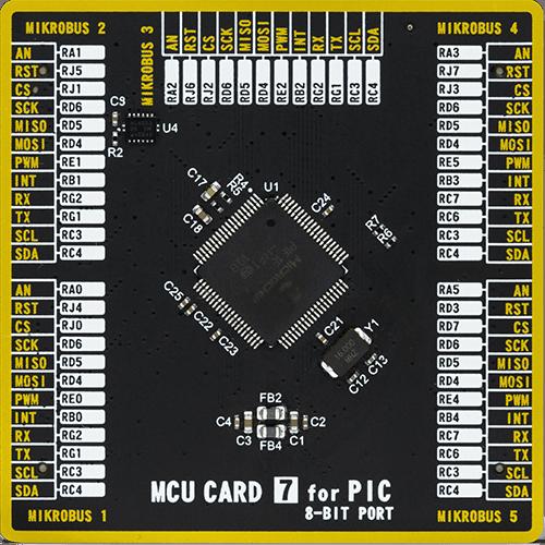 mcu card 7 for pic pic18f87j50