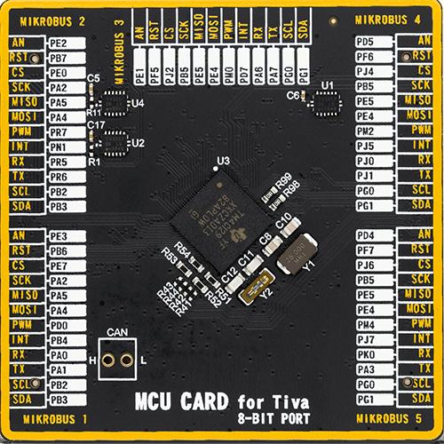 mcu card for tiva tm4c129xkczad